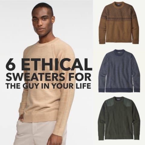 6 Ethical Sweaters for the Guy in Your Life