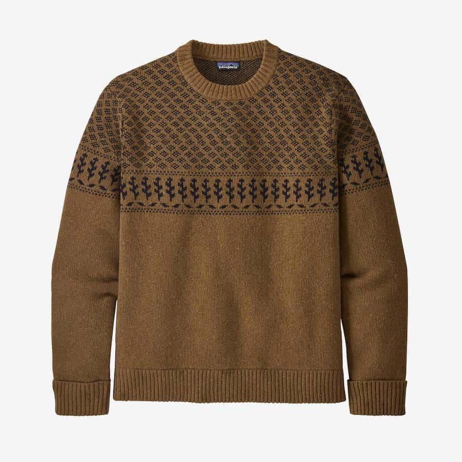 Patagonia Recycled Wool Sweater Pattern