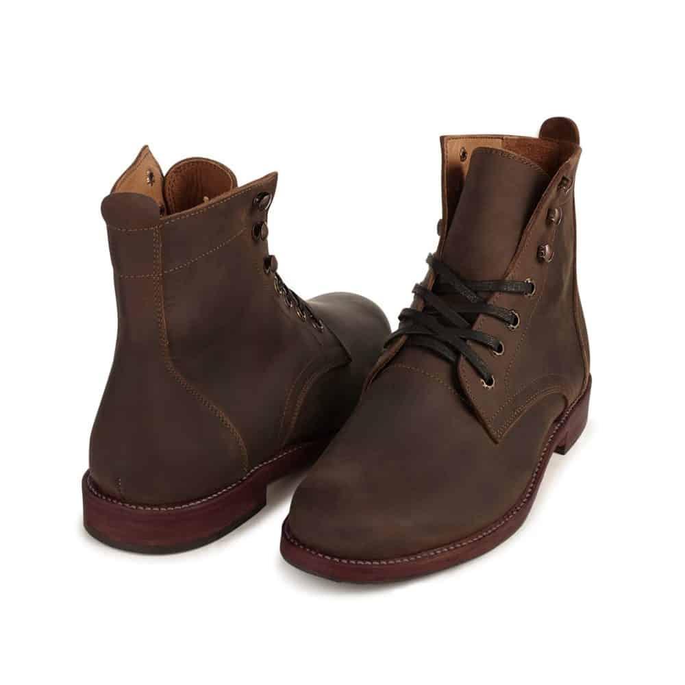 Adelante Havana Boots Mahogany