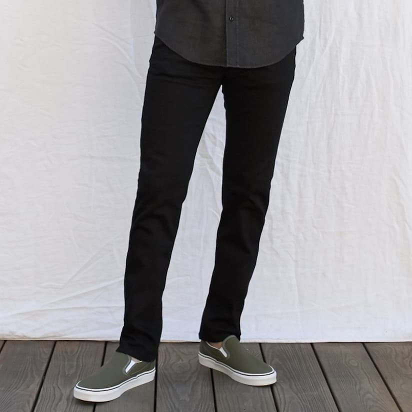 Outerknown Ambassador Slim Fit Black Jeans