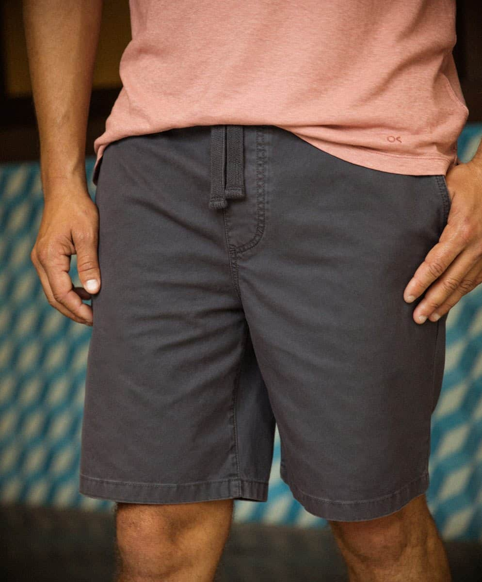Organic cotton shorts by Outerknown