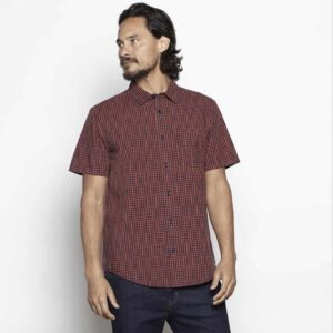 Outerknown SEA Short Sleeve Organic Cotton Shirt