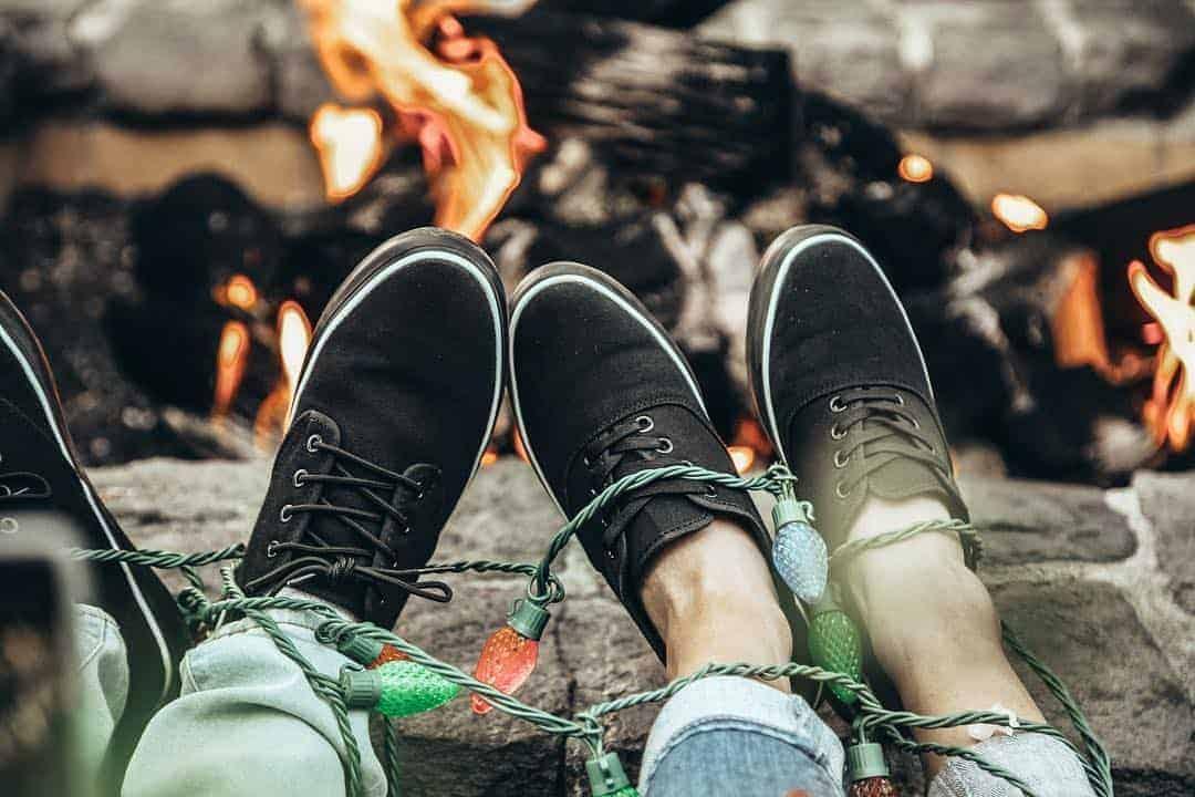 Z Shoes Organic Blackout Sneakers