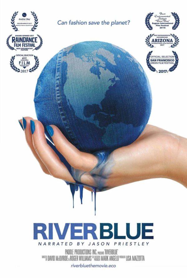River Blue Film Poster