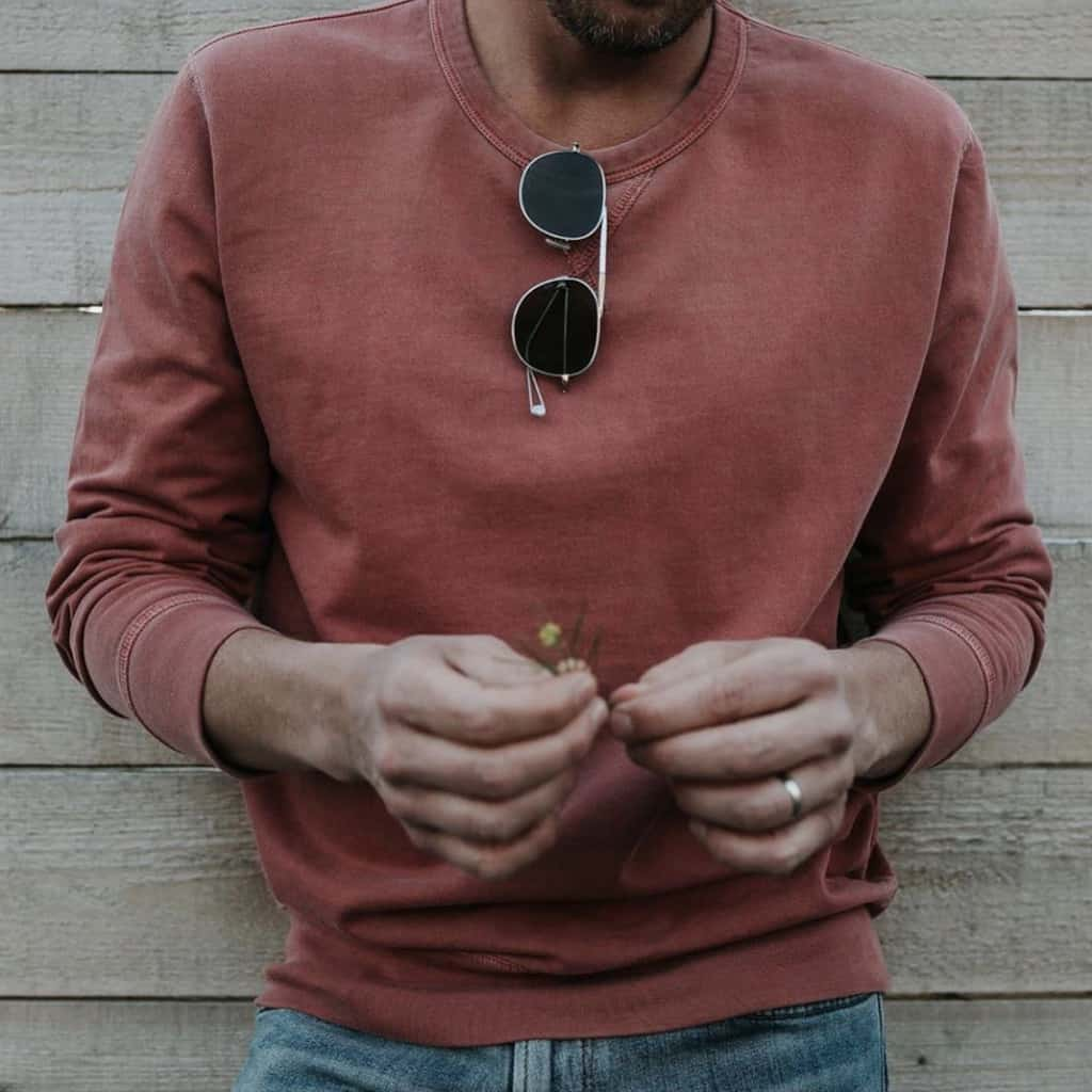 Outerknown Sustainably Made Mens Sweatshirt