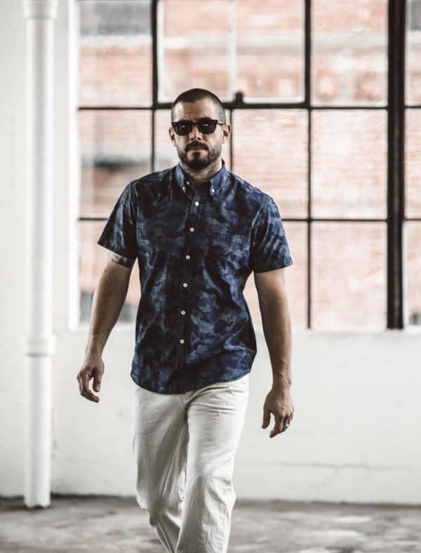 Taylor Stitch Men's Patterned Short Sleeve Button Ups