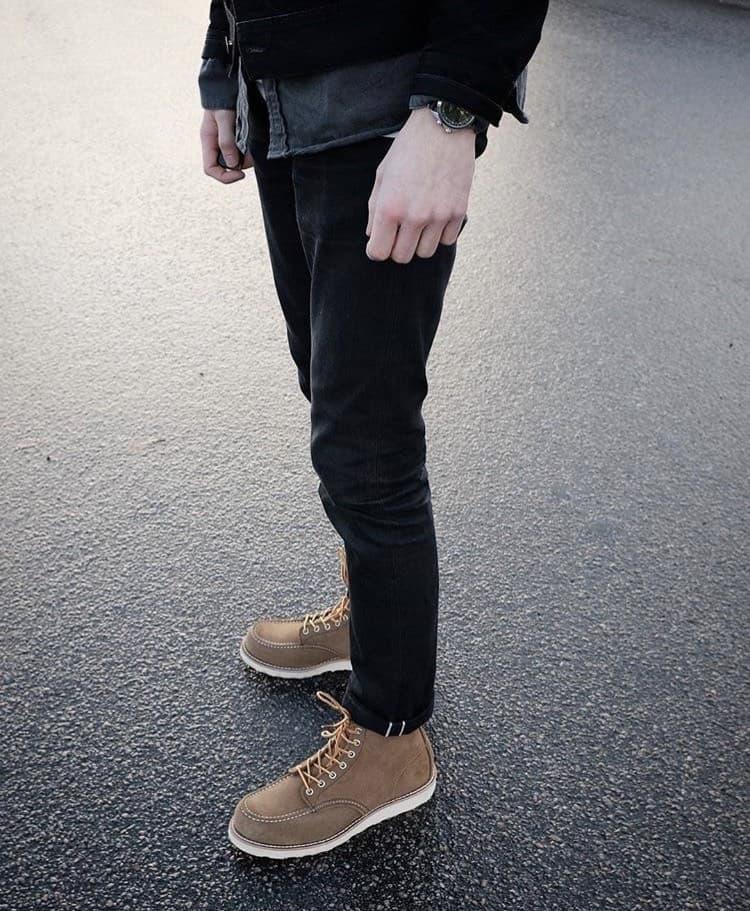 Nudie Jeans Men's Black Denim