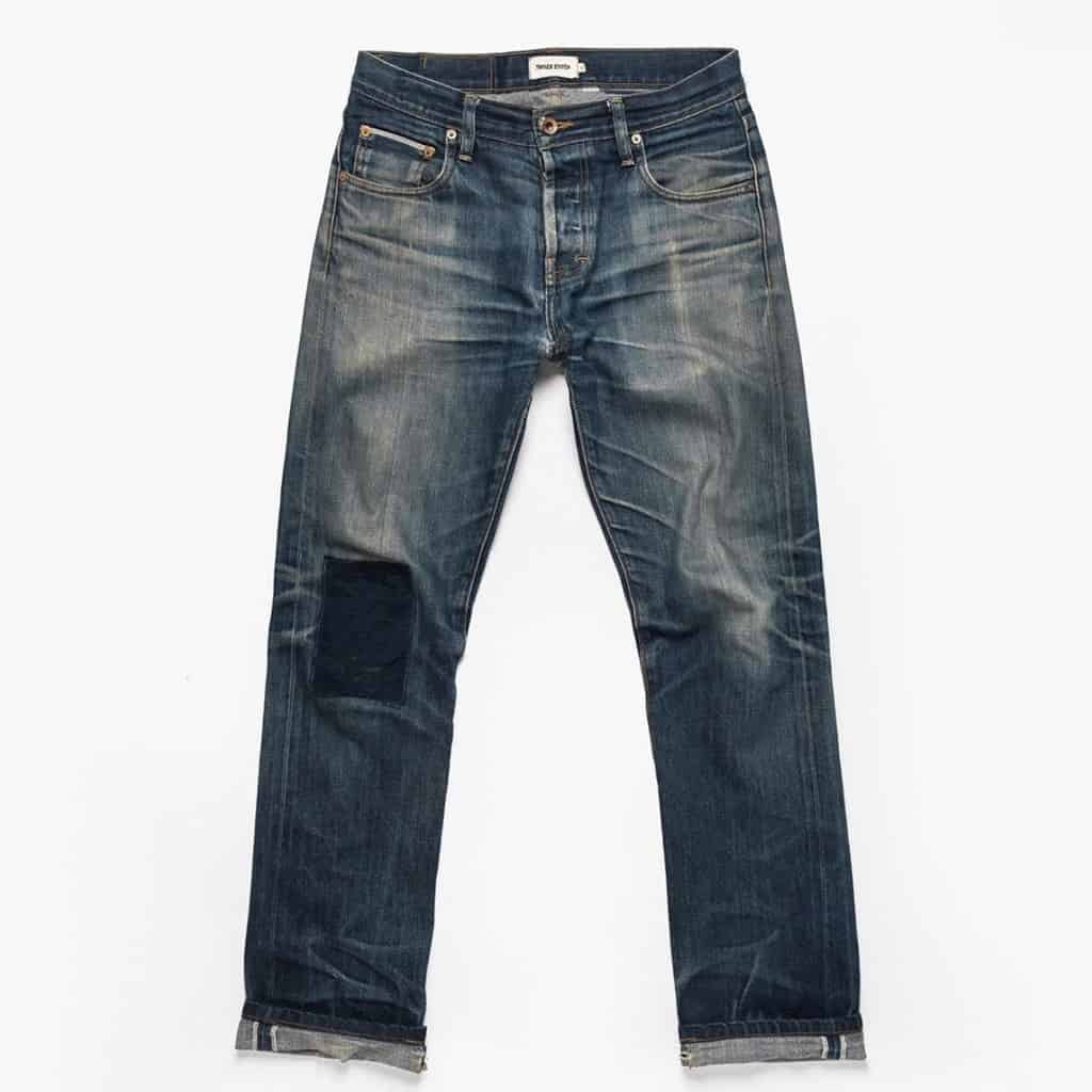 Taylor Stitch Restitch Repaired Jeans