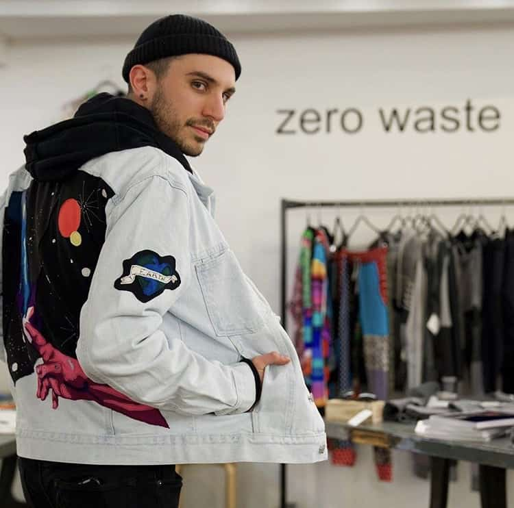 Zero Waste Daniel Jean Jacket Patches