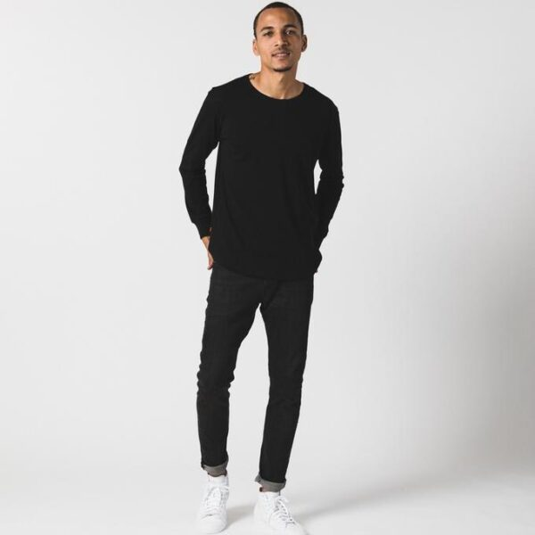Black Long Sleeve Tee by Known Supply