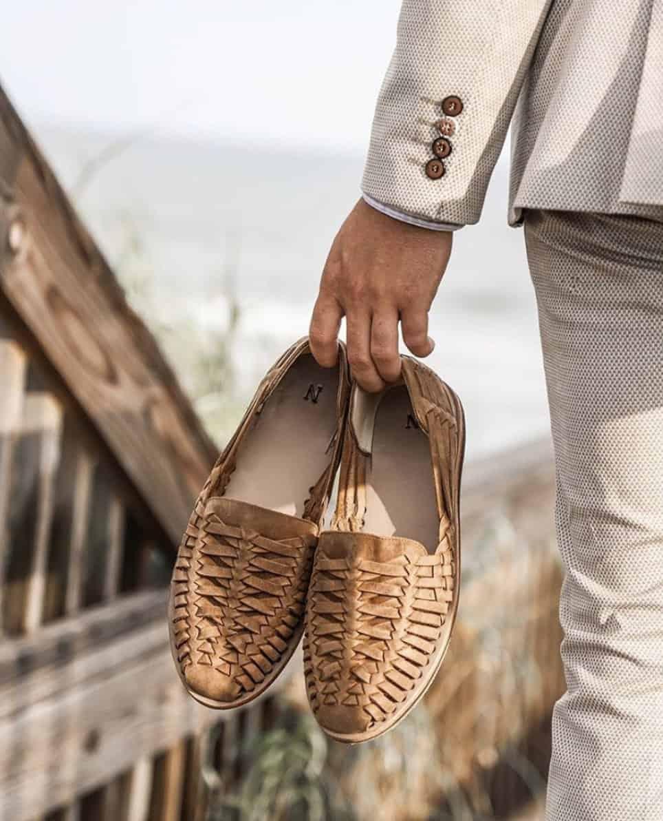 Nisolo Dapper Huarache Sandals