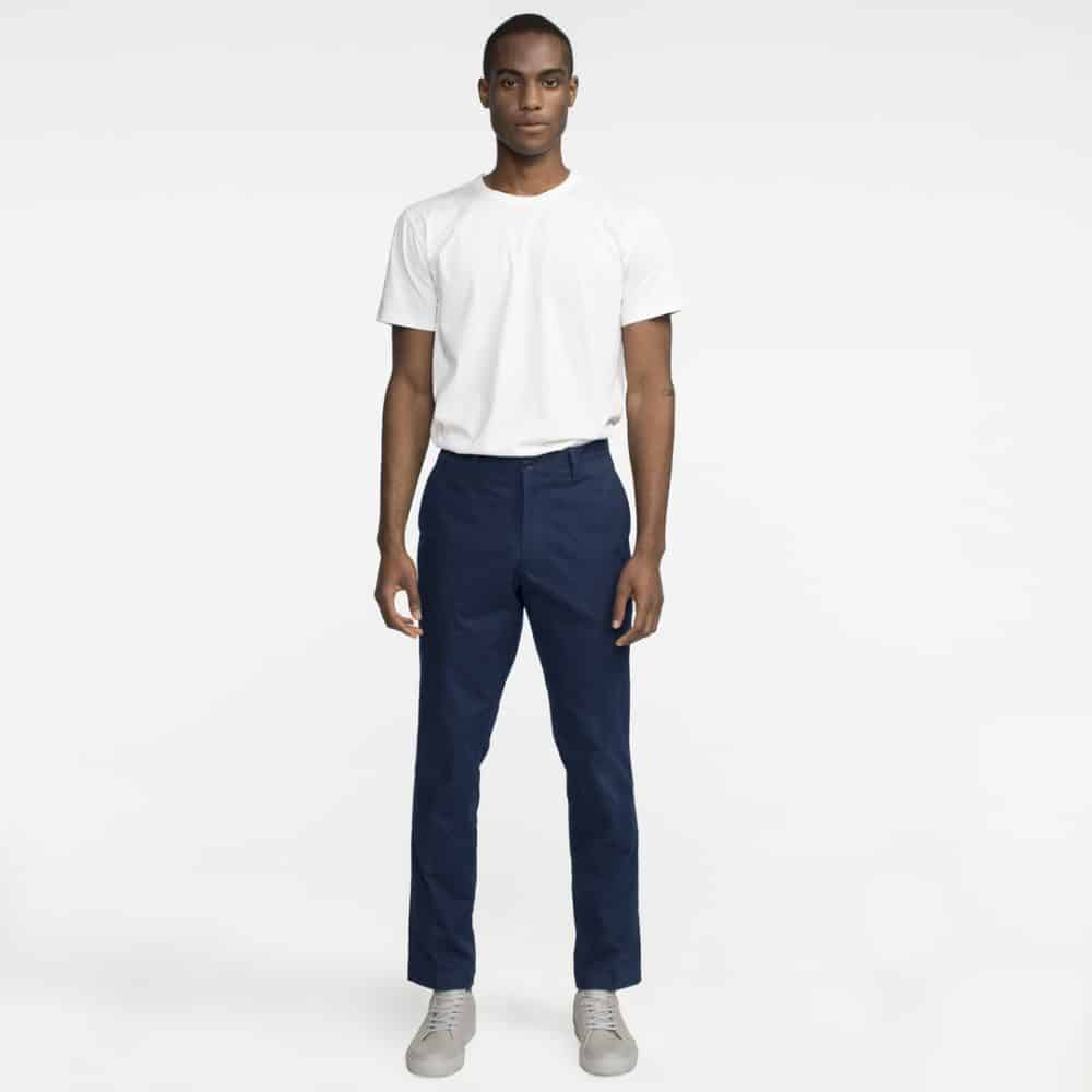 Tact & Stone Trvlr Performance Chino in Navy