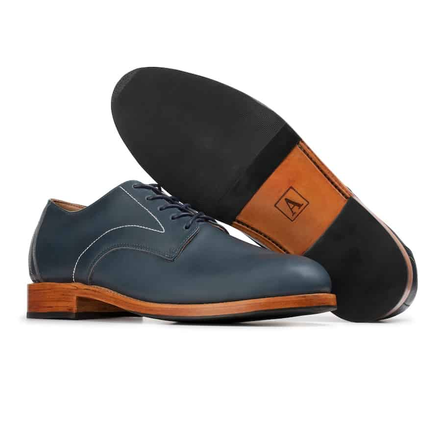 The Romero Oxford in Blue by Adelante
