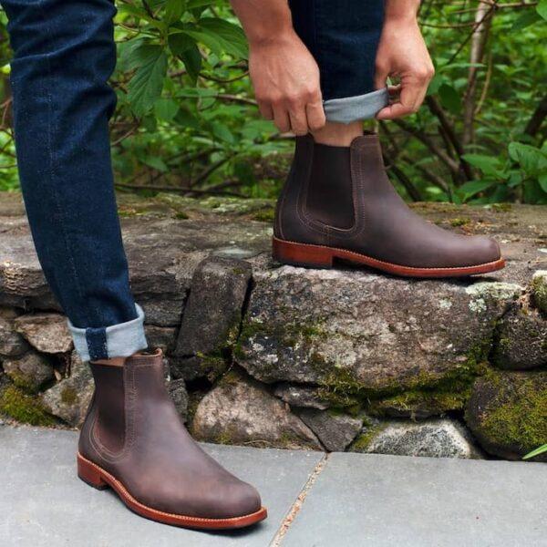 8) Adelante Shoe Company Mendoza Chelsea Boots