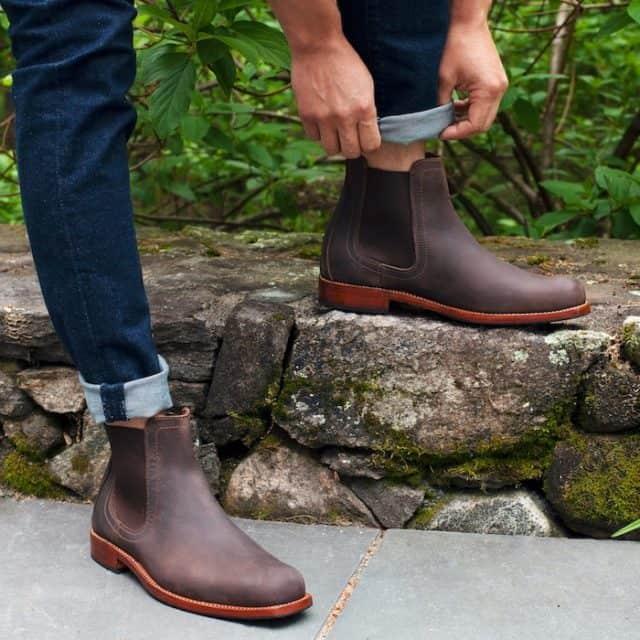 Adelante Shoe Company Mendoza Chelsea Boots