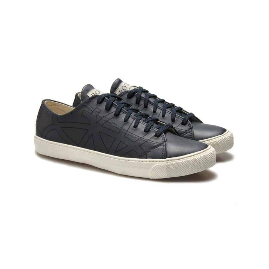 Po-Zu Dragonfly Sneakers Navy Blue