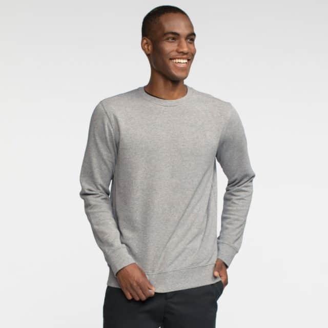 Tact & Stone French Terry Crew Sweatshirt