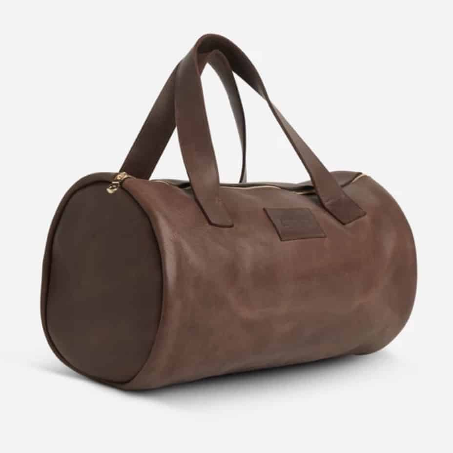 Parker Clay Omo Overnight Bag Brown