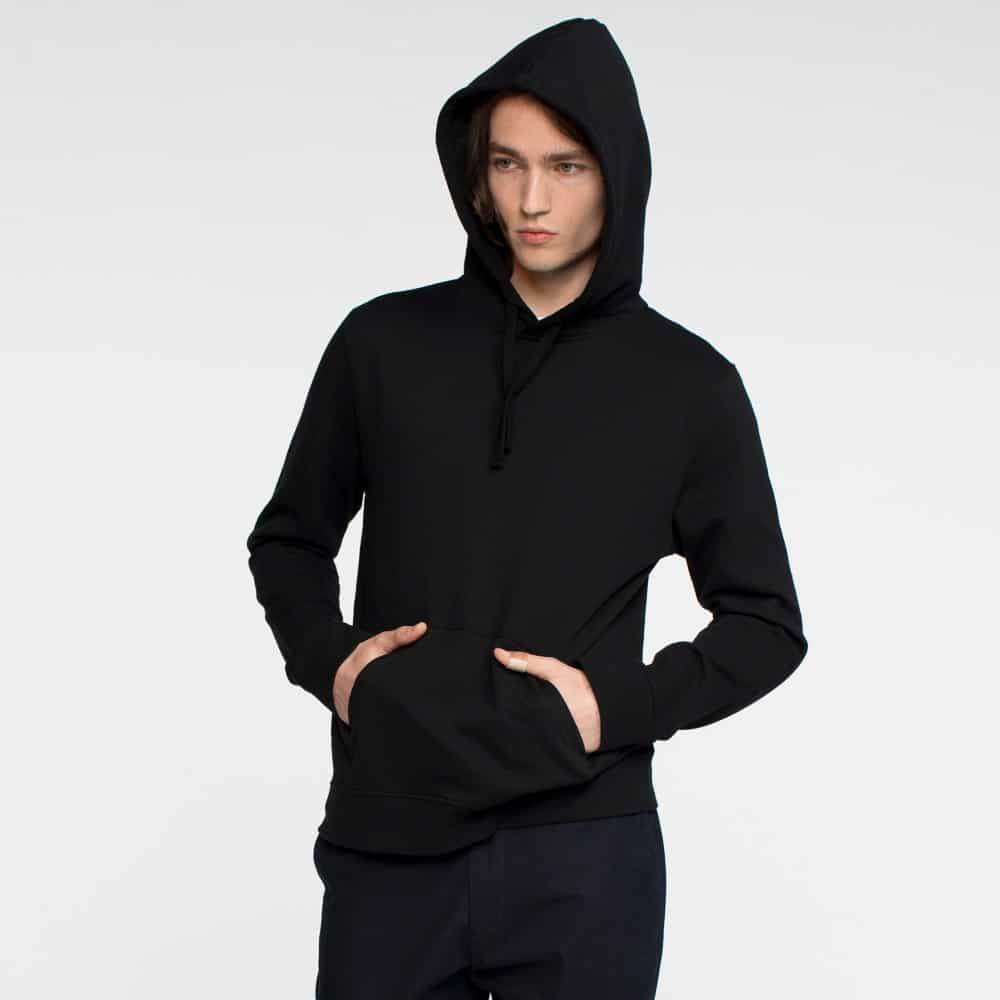 Tact and Stone Black Hoodie