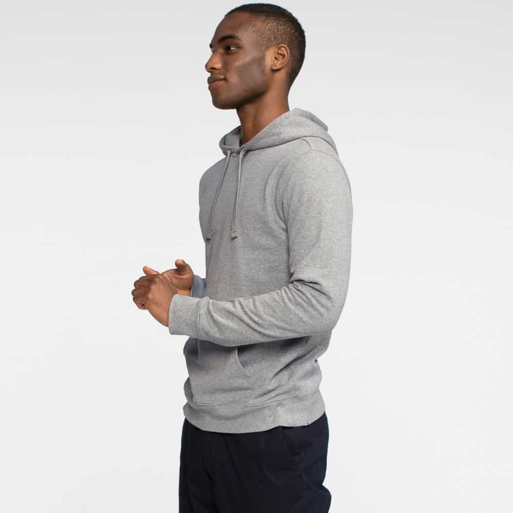 Tact and Stone Grey Hoodie