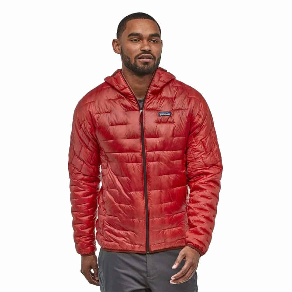 Patagonia Micro Puff Hoody Red