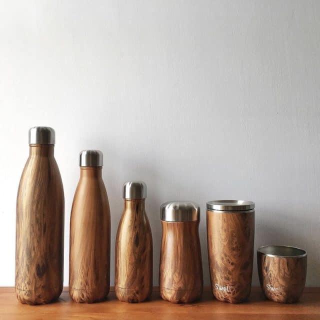 S'well Wood Water Bottles