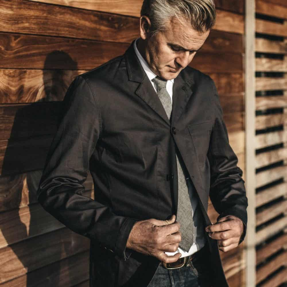 Taylor Stitch Gibson Jacket Charcoal