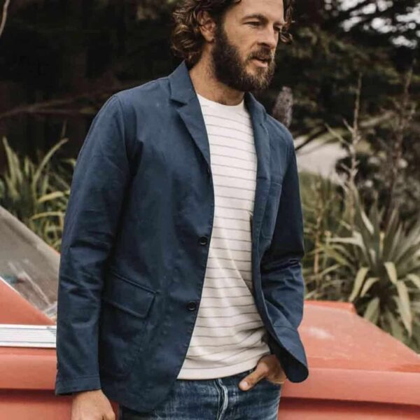 Taylor Stitch Gibson Jacket in Navy