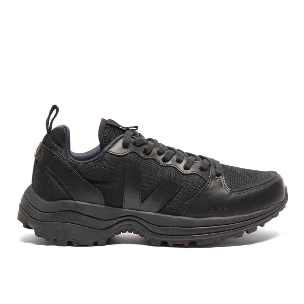 VEJA Mens Venturi Bastille B Mesh All Black Sneaker