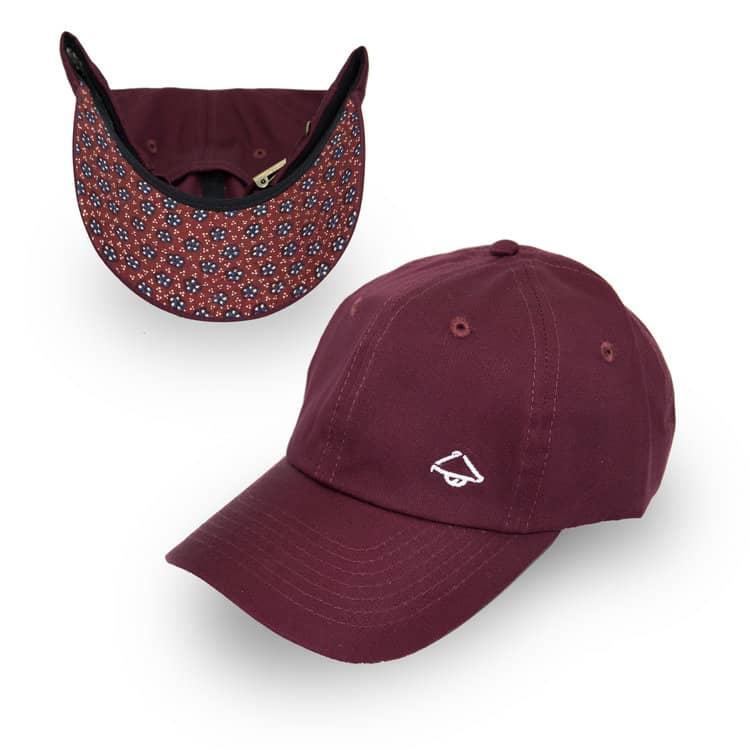 Burgundy Topiku Hat