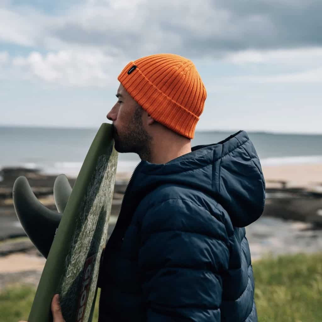 Finisterre Fisherman Beanie in Spark