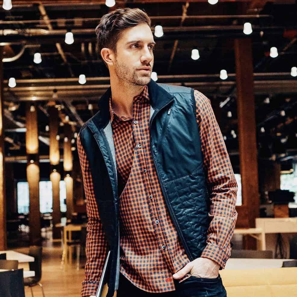 GOTS certified organic cotton Element Shirt by Vustra