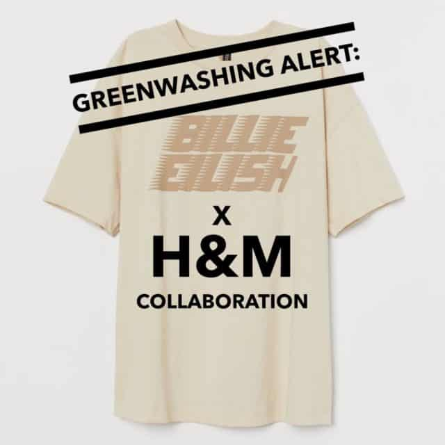 Greenwashing Alert H&M and Billie Eilish Collaboration