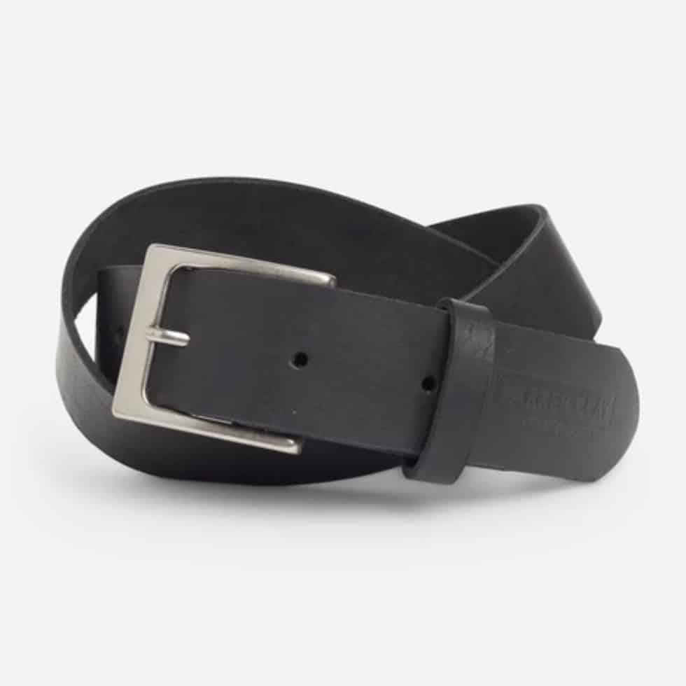 Mekonnen Leather Belt Parker Clay Black
