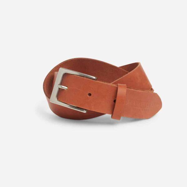 Mekonnen Leather Belt Parker Clay Rust Brown