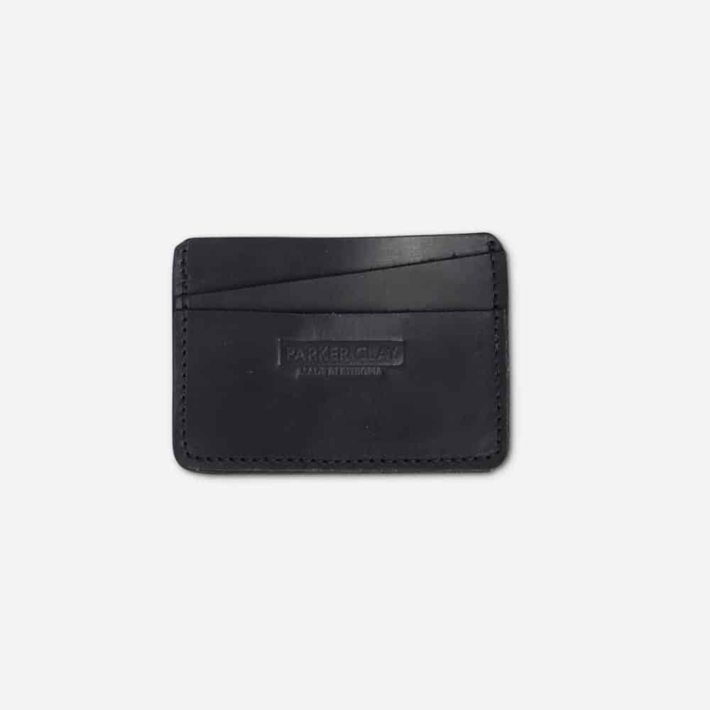 Minimalist Wallet Parker Clay Black