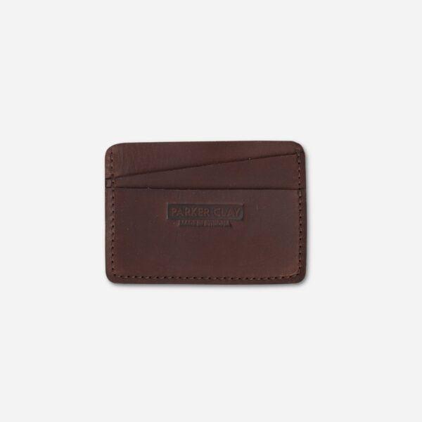 Minimalist Wallet Parker Clay Brown