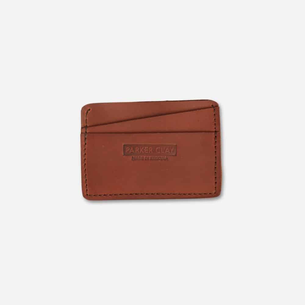 Minimalist Wallet Parker Clay Rust Brown