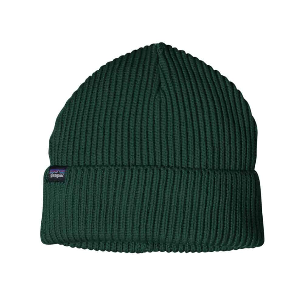 Patagonia Beanie Recycled Polyester Green