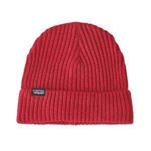 Patagonia Beanie Recycled Polyester Red