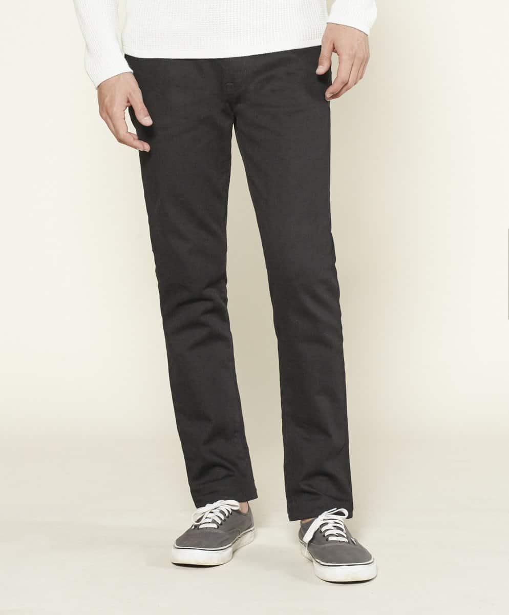 Ambassador Slim Fit Mens Jeans Black Outerknown