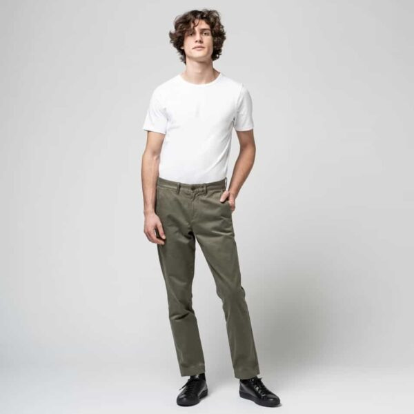ISTO Chinos in Olive