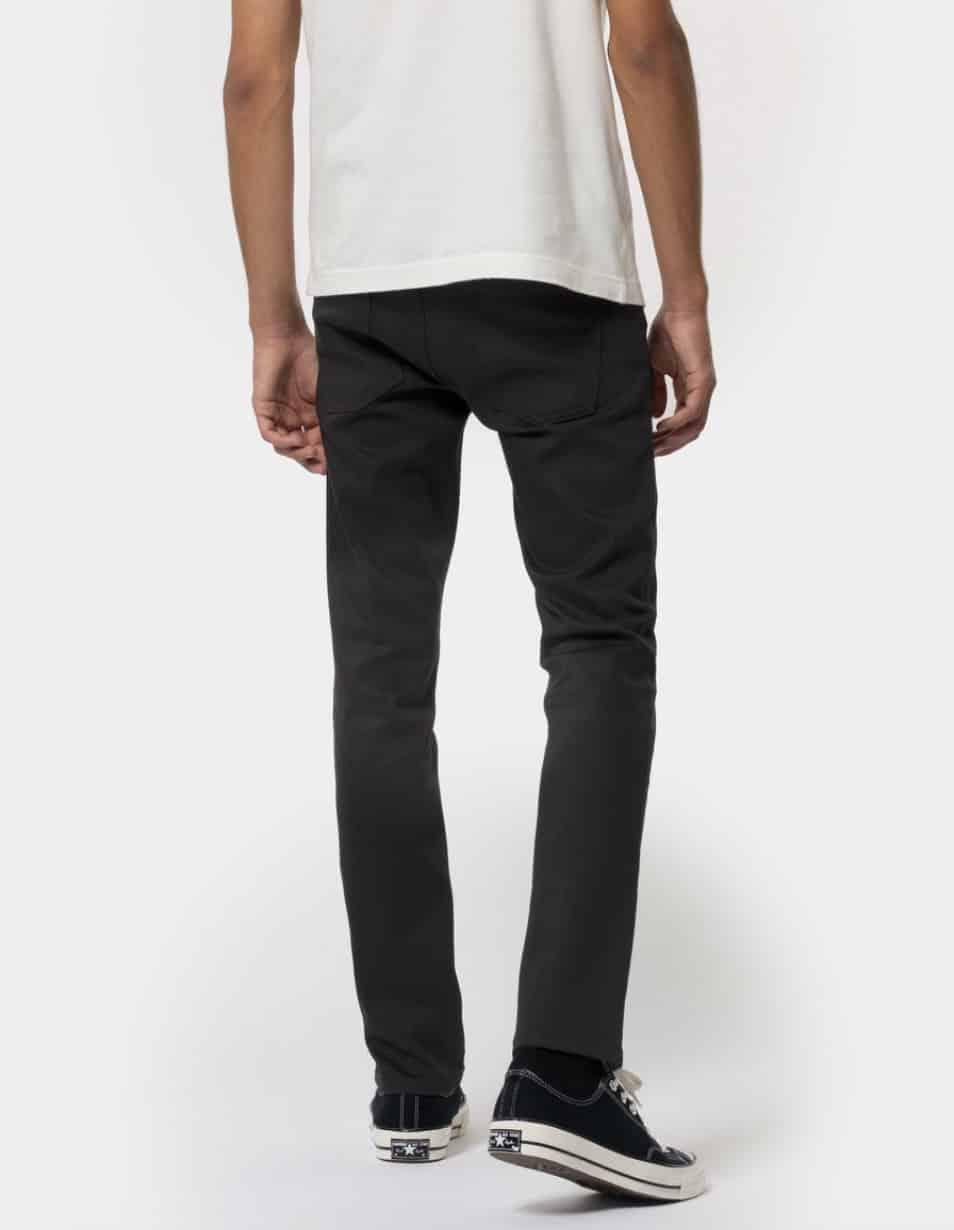 Nudie Jeans Grim Tim Dry Everblack Mens
