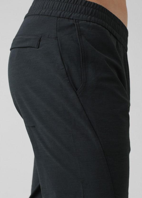 prana west edge jogger black pockets