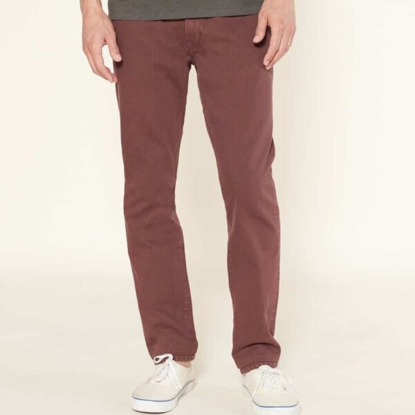 Outerknown Drifter Tapered Fit SEA Jeans Redwood