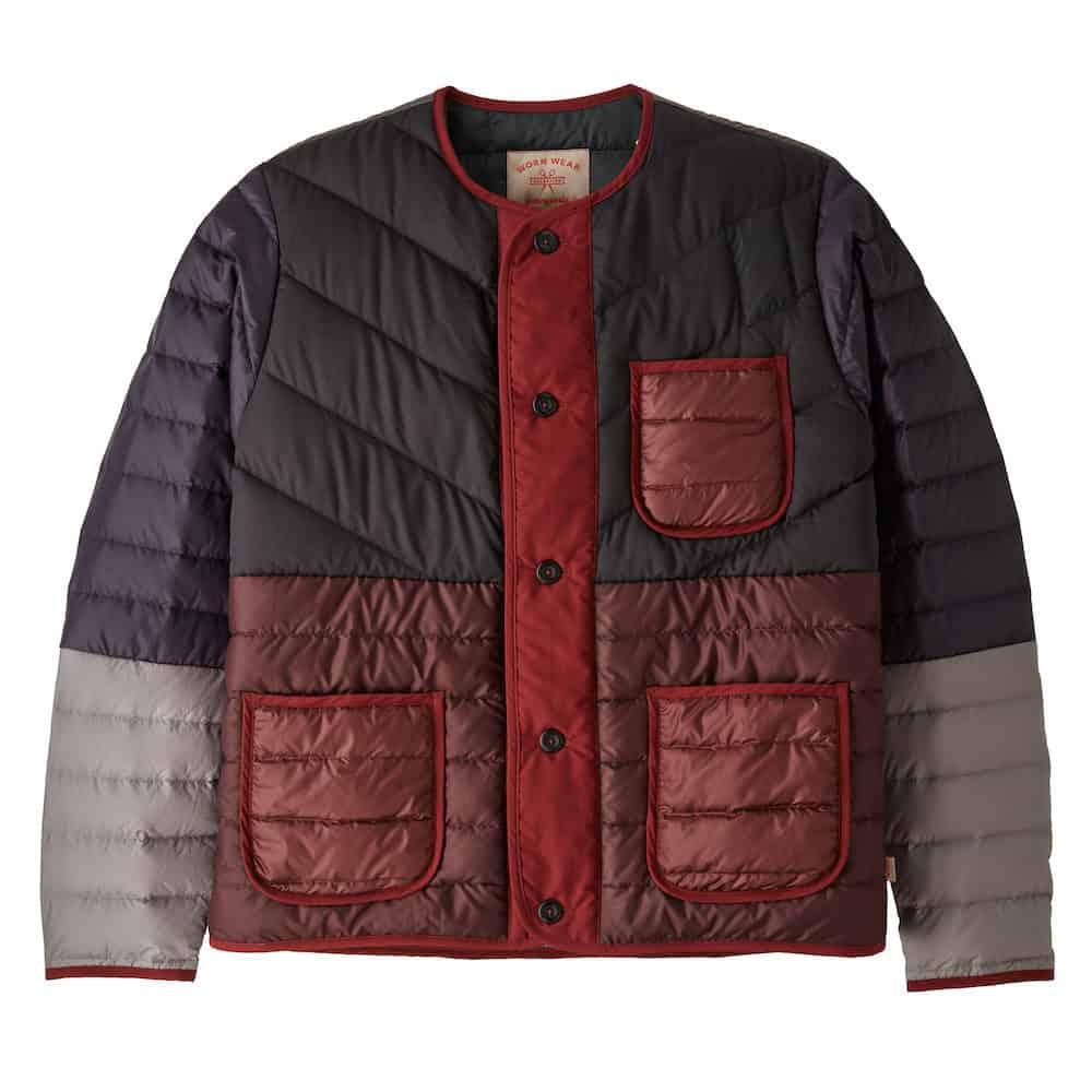 Patagonia Wornwear Recrafted Down Jacket Red