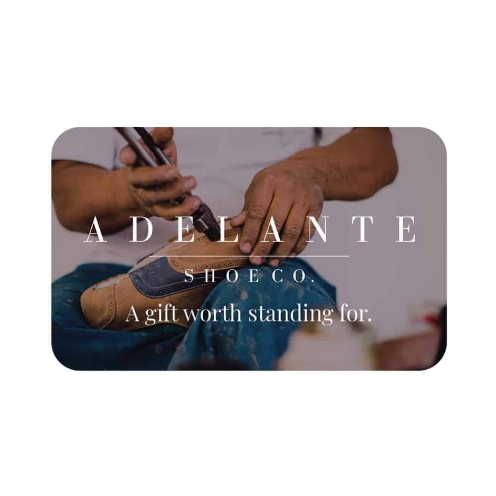 Adelante Shoe Co Gift Card