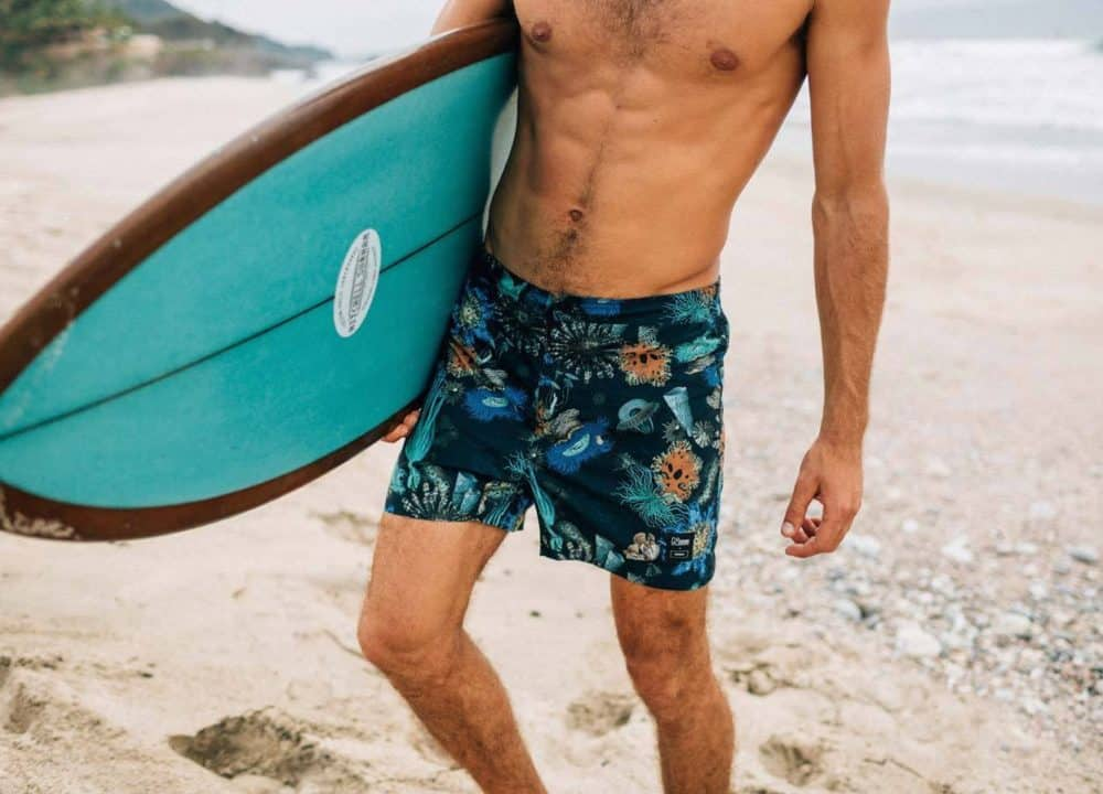 Finisterre x Natural History Museum Swim Suit Mens