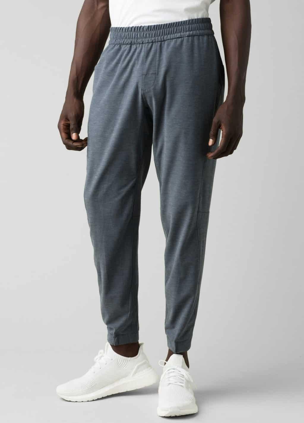 prAna grey joggers Fair Trade