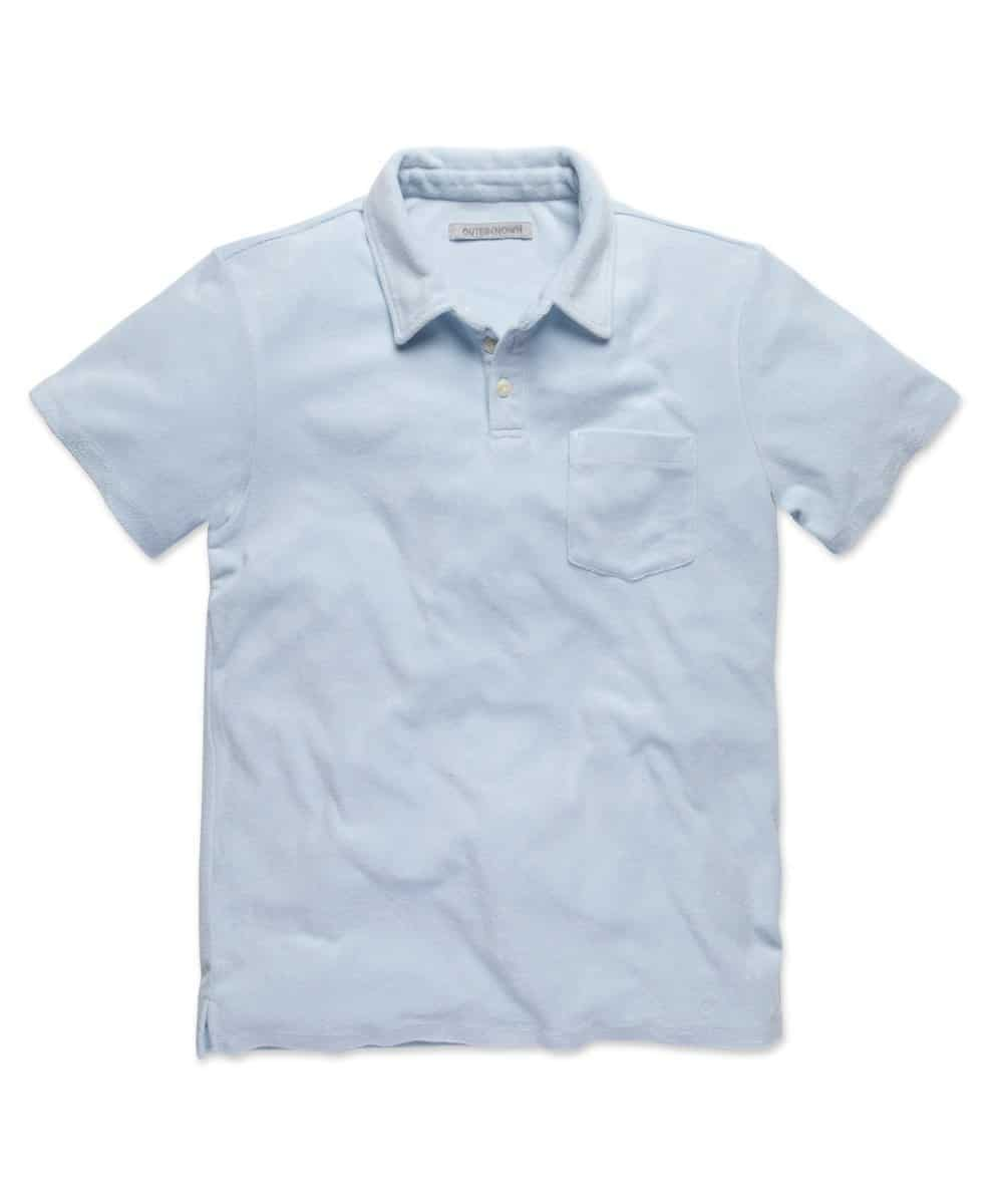 Outerknown Hightide Terry Polo Daylight
